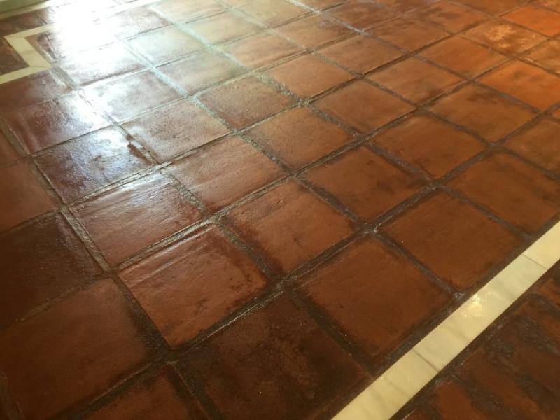 suelo de barro interior tras aplicación tratamiento 02