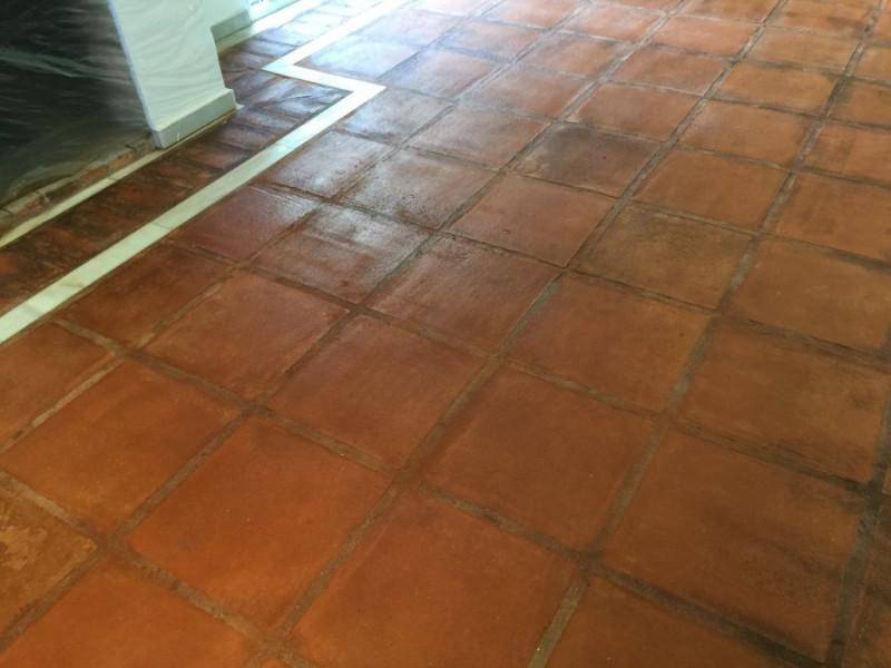 suelo de barro interior tras aplicación tratamiento 03