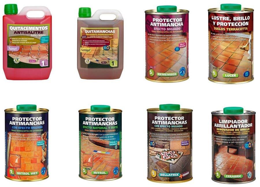 productos limpieza y tratamientos de suelos