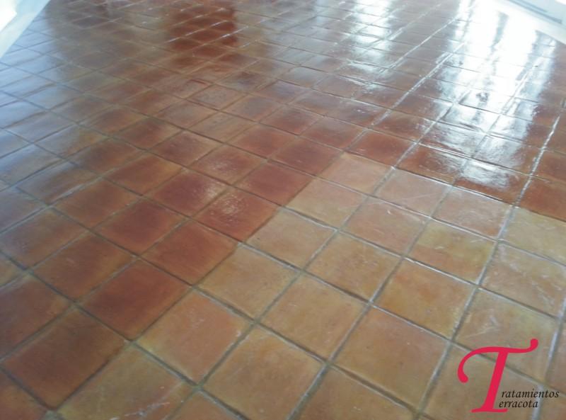 tratamiento suelo barro interior acabado brillo 01