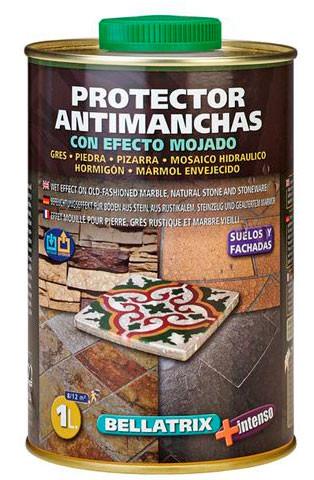 tratamiento para suelos de piedra, mármol y mosaicos hidráulicos natural acabado efecto mojado