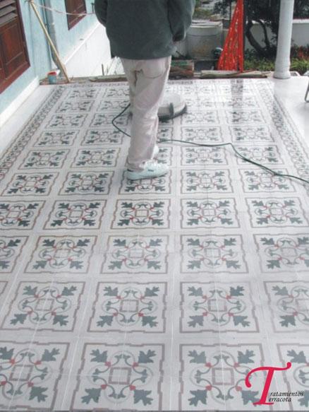 limpiar suelo hidráulico