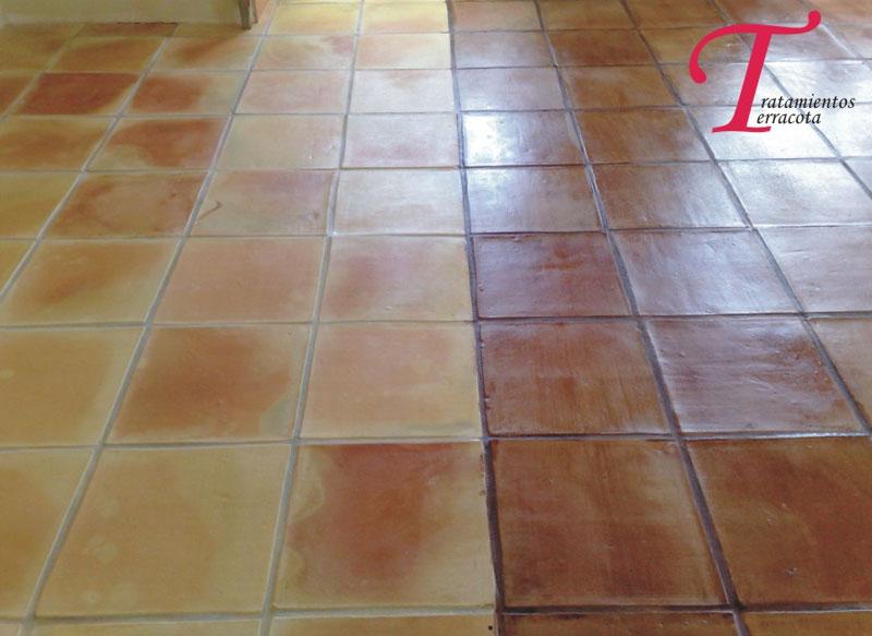tratamiento suelo barro interior acabado efecto cuero 05