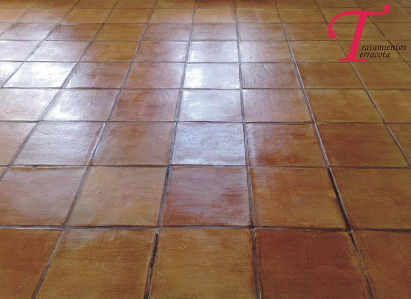 tratamiento suelo barro interior acabado efecto cuero 06